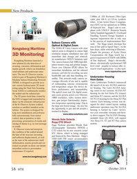 Marine Technology Magazine, page 58,  Oct 2014