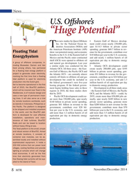 Marine Technology Magazine, page 8,  Nov 2014