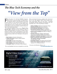 Marine Technology Magazine, page 10,  Nov 2014