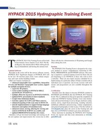 Marine Technology Magazine, page 18,  Nov 2014