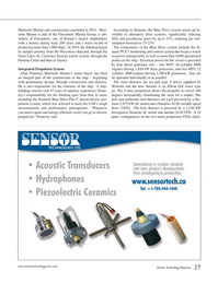 Marine Technology Magazine, page 27,  Nov 2014
