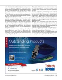 Marine Technology Magazine, page 29,  Nov 2014