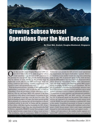 Marine Technology Magazine, page 30,  Nov 2014