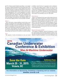 Marine Technology Magazine, page 31,  Nov 2014