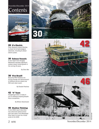 Marine Technology Magazine, page 2,  Nov 2014