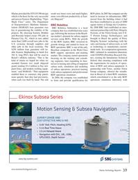 Marine Technology Magazine, page 39,  Nov 2014