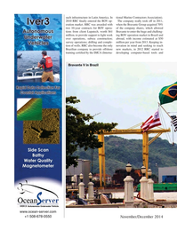 Marine Technology Magazine, page 40,  Nov 2014