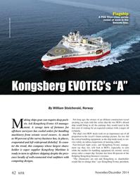 Marine Technology Magazine, page 42,  Nov 2014
