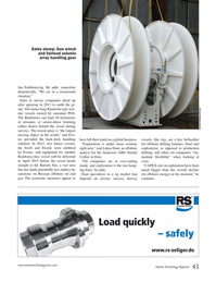 Marine Technology Magazine, page 43,  Nov 2014