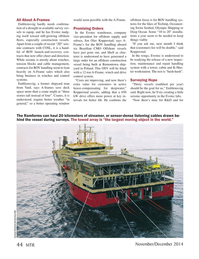 Marine Technology Magazine, page 44,  Nov 2014