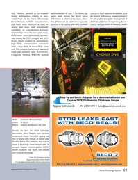 Marine Technology Magazine, page 49,  Nov 2014