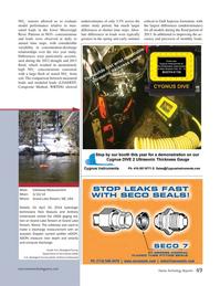 Marine Technology Magazine, page 49,  Nov 2014
