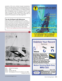 Marine Technology Magazine, page 51,  Nov 2014