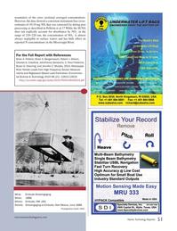 Marine Technology Magazine, page 51,  Nov 2014