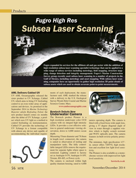 Marine Technology Magazine, page 56,  Nov 2014