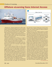 Marine Technology Magazine, page 58,  Nov 2014