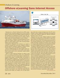 Marine Technology Magazine, page 58,  Nov 2014