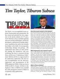 Marine Technology Magazine, page 10,  Jan 2015