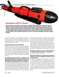 Marine Technology Magazine, page 12,  Jan 2015