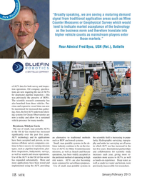 Marine Technology Magazine, page 18,  Jan 2015