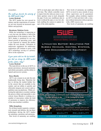 Marine Technology Magazine, page 19,  Jan 2015