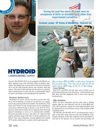 Marine Technology Magazine, page 20,  Jan 2015
