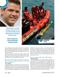 Marine Technology Magazine, page 22,  Jan 2015
