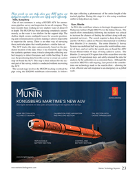 Marine Technology Magazine, page 23,  Jan 2015