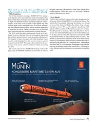 Marine Technology Magazine, page 23,  Jan 2015