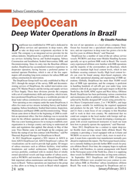 Marine Technology Magazine, page 24,  Jan 2015