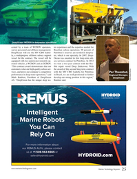 Marine Technology Magazine, page 25,  Jan 2015