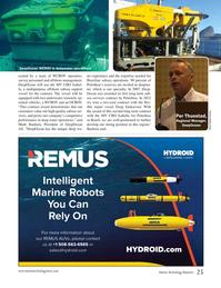 Marine Technology Magazine, page 25,  Jan 2015