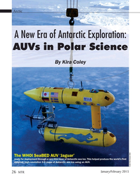 Marine Technology Magazine, page 26,  Jan 2015