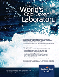 Marine Technology Magazine, page 1,  Jan 2015