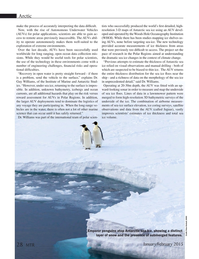 Marine Technology Magazine, page 28,  Jan 2015