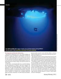 Marine Technology Magazine, page 30,  Jan 2015