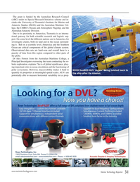 Marine Technology Magazine, page 31,  Jan 2015