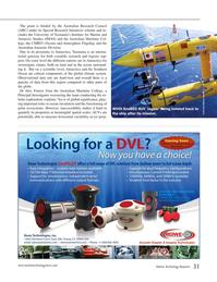 Marine Technology Magazine, page 31,  Jan 2015