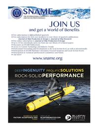 Marine Technology Magazine, page 33,  Jan 2015