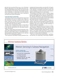 Marine Technology Magazine, page 35,  Jan 2015