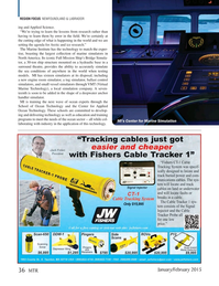 Marine Technology Magazine, page 36,  Jan 2015