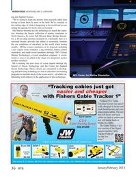Marine Technology Magazine, page 36,  Jan 2015