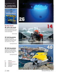 Marine Technology Magazine, page 2,  Jan 2015