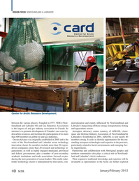 Marine Technology Magazine, page 40,  Jan 2015