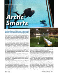 Marine Technology Magazine, page 44,  Jan 2015