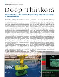 Marine Technology Magazine, page 46,  Jan 2015