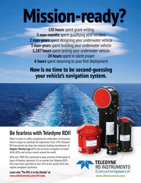 Marine Technology Magazine, page 3,  Jan 2015