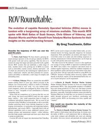 Marine Technology Magazine, page 48,  Jan 2015