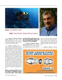 Marine Technology Magazine, page 51,  Jan 2015