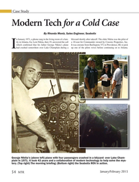 Marine Technology Magazine, page 54,  Jan 2015